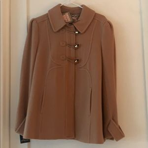 Juicy Couture NWT Camel Toggle Jacket